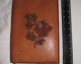 Handmade Leather A5 bookcover