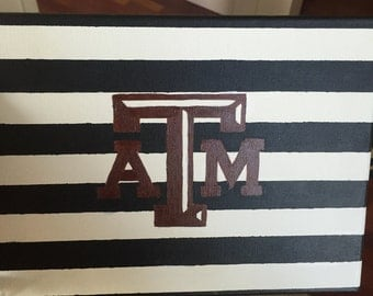 Texas A&M dorm room painting