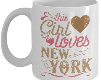 This Girl Loves New York Mug