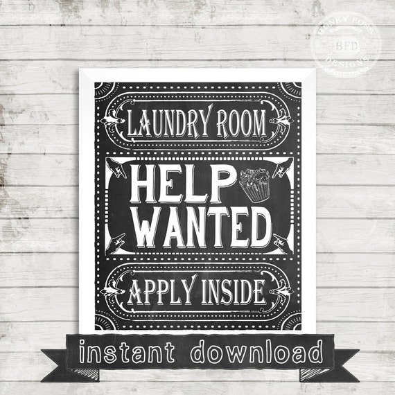 help wanted signs printable