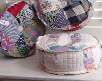 Roundies-Smooshy round pillows