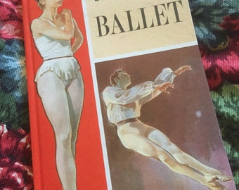 Vintage ladybird book of ballet