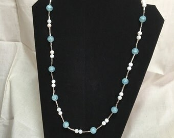 Dreamy Blue Necklace