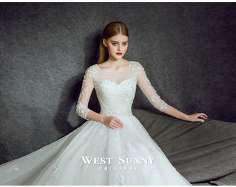 LT wedding dress