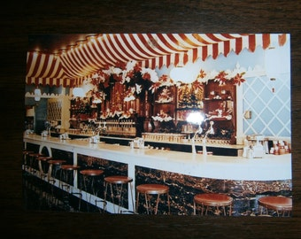 Christmas 1960 Carnation Disneyland Ice Cream Parlor Photo