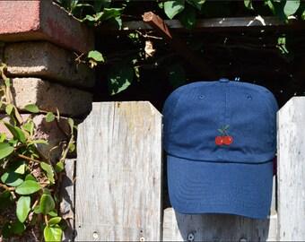 Cherry on Top- Navy hat