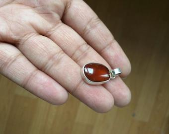 Mozambique Garnet Pendant