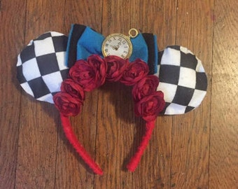 Alice In Wonderland Inspired Ears