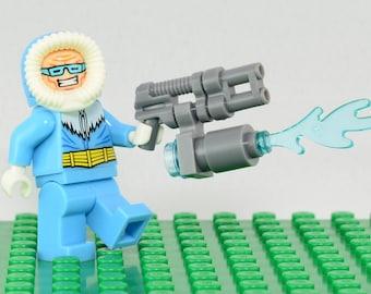 Captain Cold Custom minifigure (Lego Compatible) DC Comics Flash Villain Legends of Tomorrow Superhero Leonard Snart Justice League America
