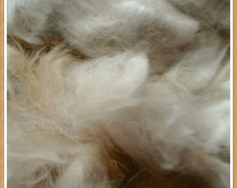 1 oz. Angora rabbit fiber