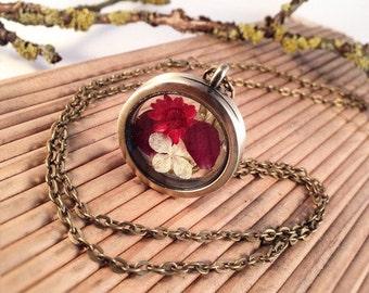 "Medallion ""Flowers banquet"" bronze"