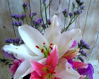 Oriental style Bridal Bouquet