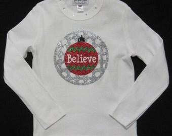 Girls ornament tee shirt