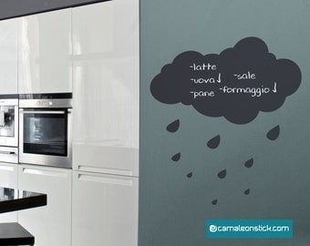 Adhesive Blackboard chalkboard kitchen-cloud wall stickers