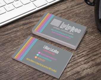LuLaRoe Business Card-Home Office Colors and Fonts