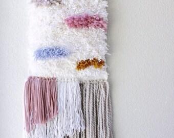 Color Amoeba Shag Tapestry