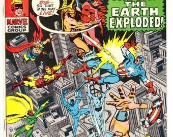 Avengers #76 (1970) VF 8.0