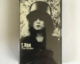 T REX - THE SLIDER cassette (Reprise)