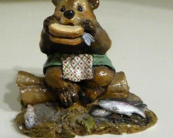 Vintage bear figurine