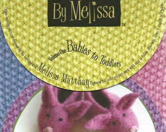 Knitting Patterns by Melissa - Babies to Toddlers