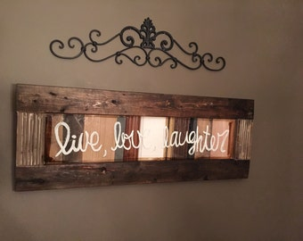 Handmade wall decor