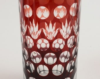Set of six Bohemian tumblers (ID 47288)