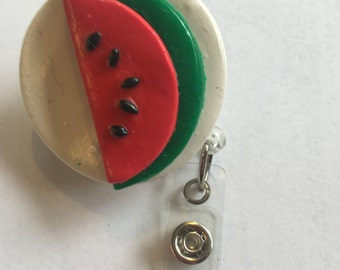 Watermelon Badge Reel