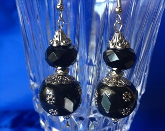 Basic Black Earrings