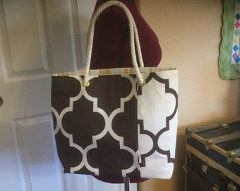 Reversible Go Everywhere Tote Bag