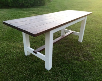 Custom Wood Table - Anniversary Collection
