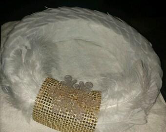 """The """"Snow Dove"""" wreath"""