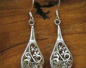 Filigree Rain Earrings Filigree Earrings