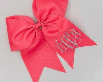 Monogram Hair Bows
