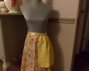 Yellow Floral Apron