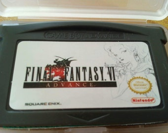 Final Fantasy 6 for gba