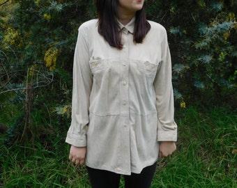 1970's Buckskin shirt