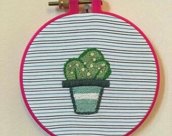 Cactus hoop