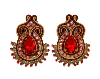 Earrings Soutache Rania S3