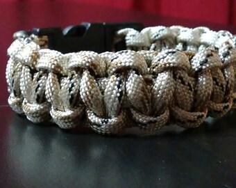 "6"" custom paracord bracelet"