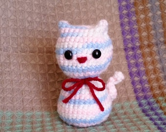 The Crocheted Cat Owl Amigurumi known as Cowl