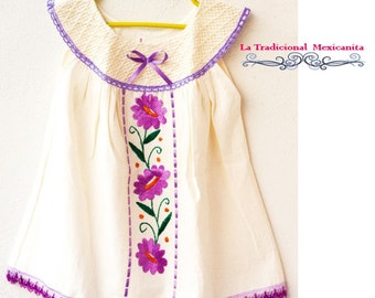 Baby Embroidered Dress