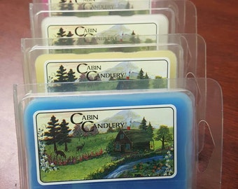Scented Wax Melts Wax Tarts Candle Melts Cabin Candlery
