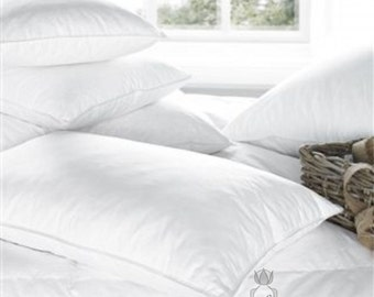 """Environmentally friendly, classical style 5 percent duck down / 95 percent feather pillow """"Rugilė"""""""