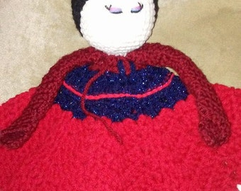 Mulan Princess Inspired Lovey Doll/Security Blanket