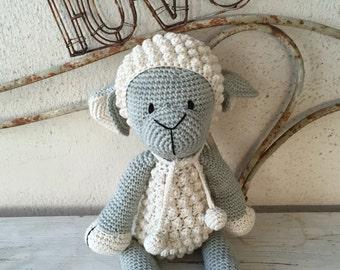 Skapie the crochet lamb