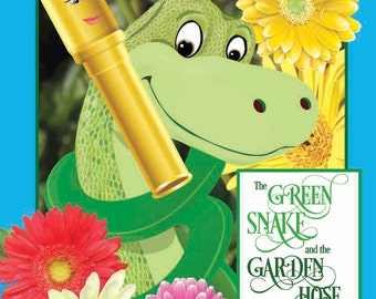 Green Snake and the Garden Hose