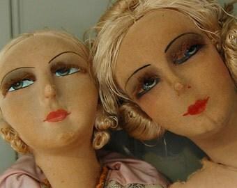 2 French Boudoir Dolls
