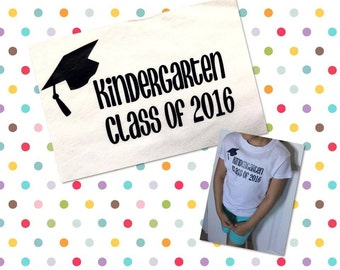 Graduation, T-shirt, Class of (year of choice), Kindergarten, 2017, school, grade, high school, college, university, degree, study, masters