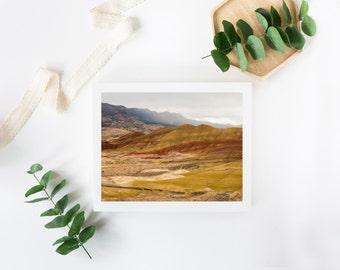 Fine Art Photography Painted Hills Landscape Wall Art Print