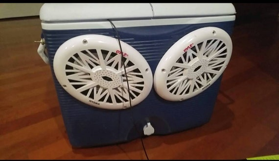 Stereo cooler ice chest Tailgate